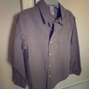 Janie and Jack Button Down Shirt - Size 5